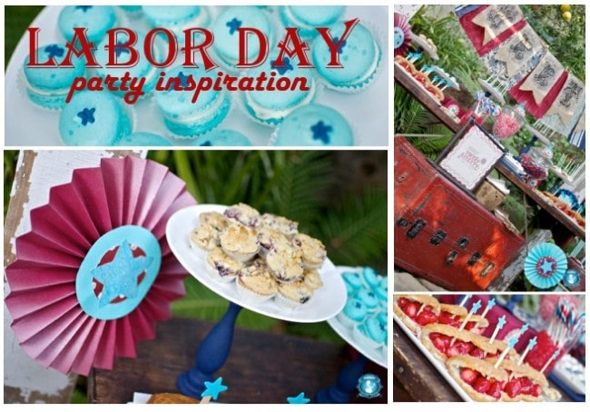 Labor Day Party Ideas by Sweets Indeed