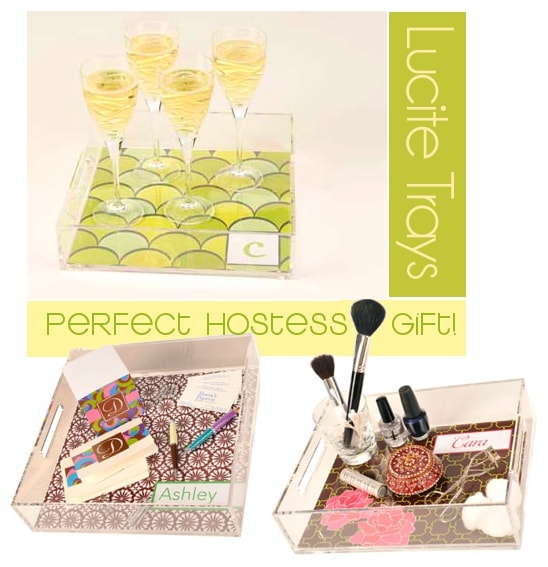 reversible lucite trays