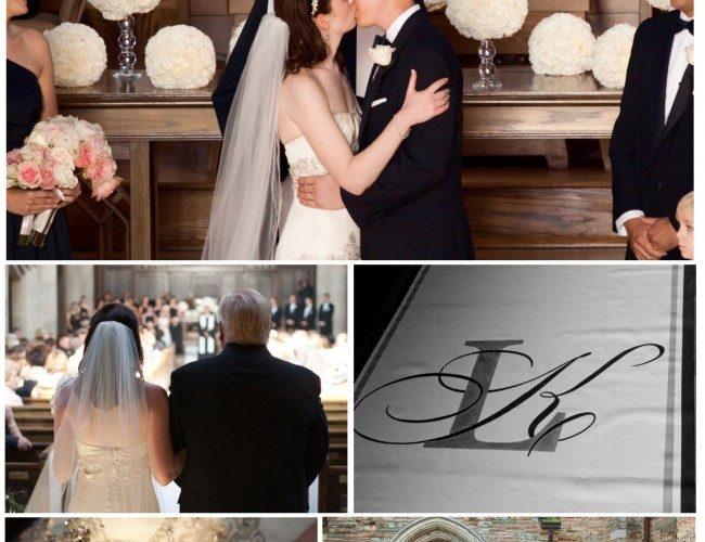 Wedding Showcase: Pink, White, & Black