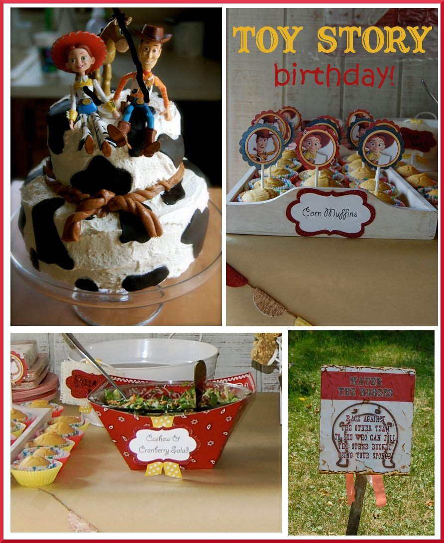 Toy Story Birthday Party : Toy story birthday party pizzazzerie