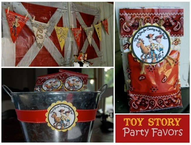toy story party favors