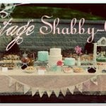 vintage shabby chic 1st birthday party