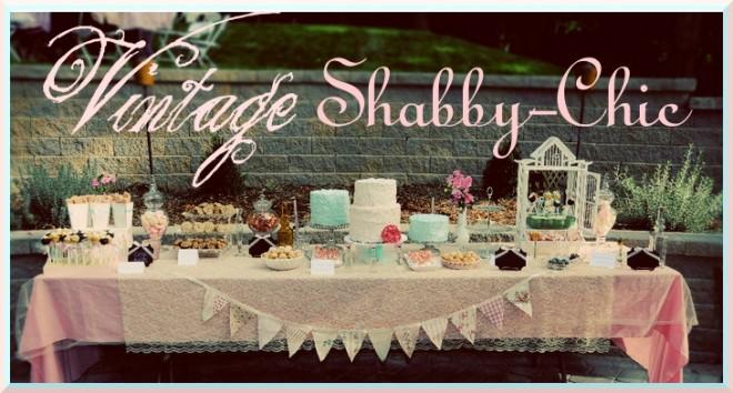 vintage shabby chic 1st birthday party