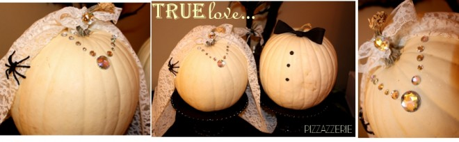 wedding halloween pumpkins