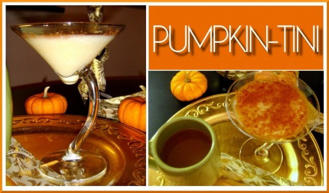 pumpkin tini martini recipe