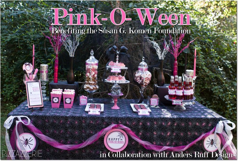 pink o ween party benefiting the susan g komen foundation pizzazzerie. Black Bedroom Furniture Sets. Home Design Ideas