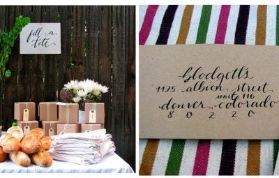 fall party artichoke table design