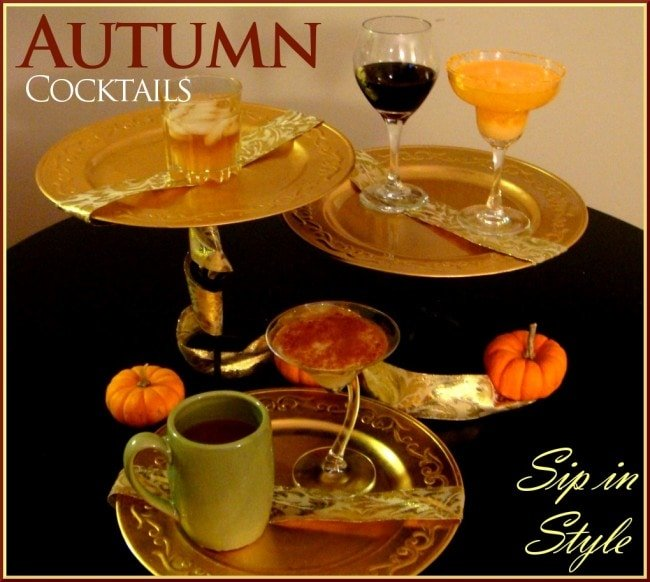 fall cocktails autumn