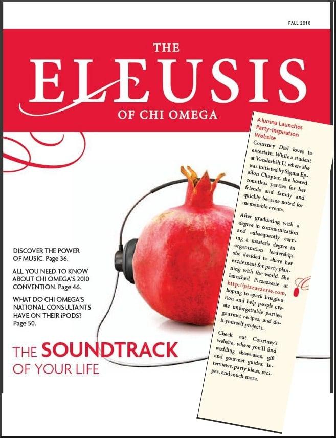 chi omega eleusis magazine