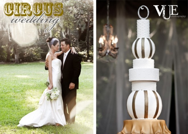 circus themed wedding by fete