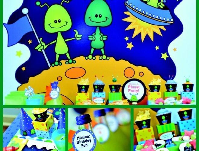 Alien Invasion Party
