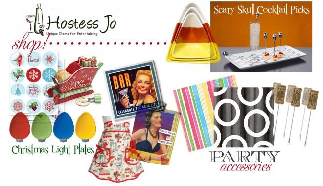 Hostess Jo: Unique Items for Entertaining