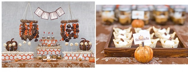 pumpkin fall tablescape party design