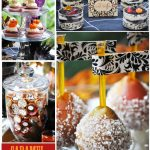 Rustic Halloween Dessert Table