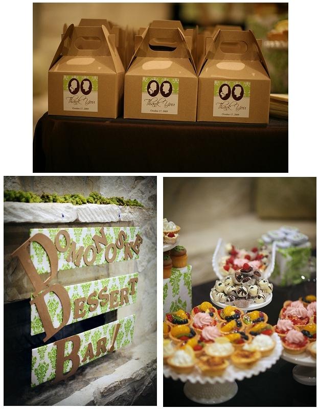 wedding dessert bar pictures