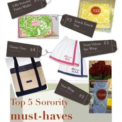sorority gifts online