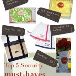 Top 5 Sorority Must-Haves