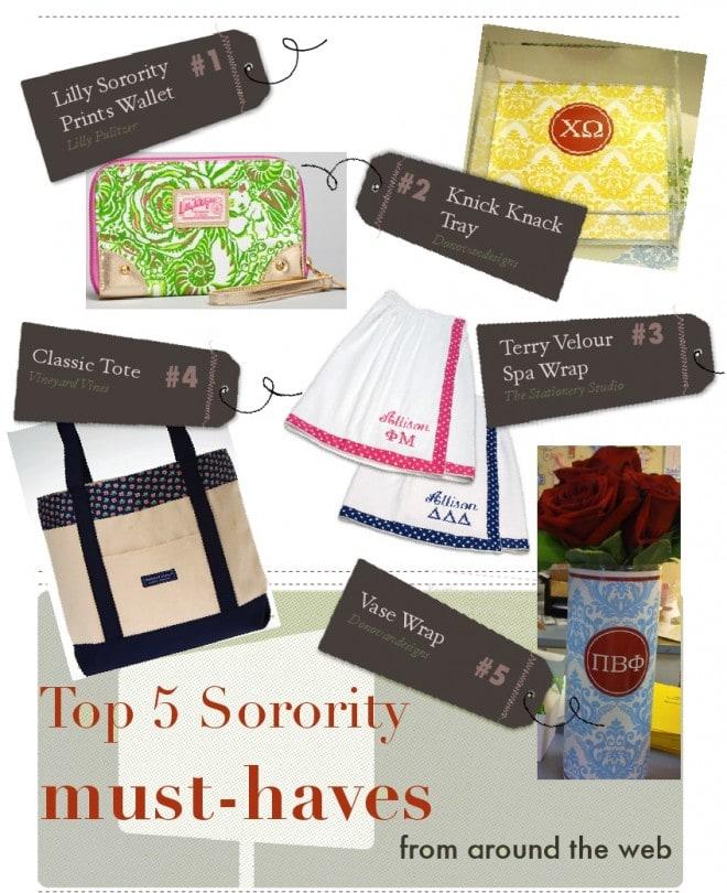 sorority gift ideas