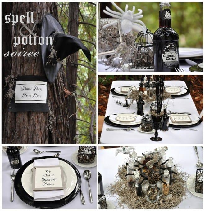 spell potion halloween party by luna chloe weddings