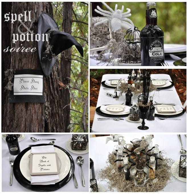 spell potion halloween party by luna chloe weddings