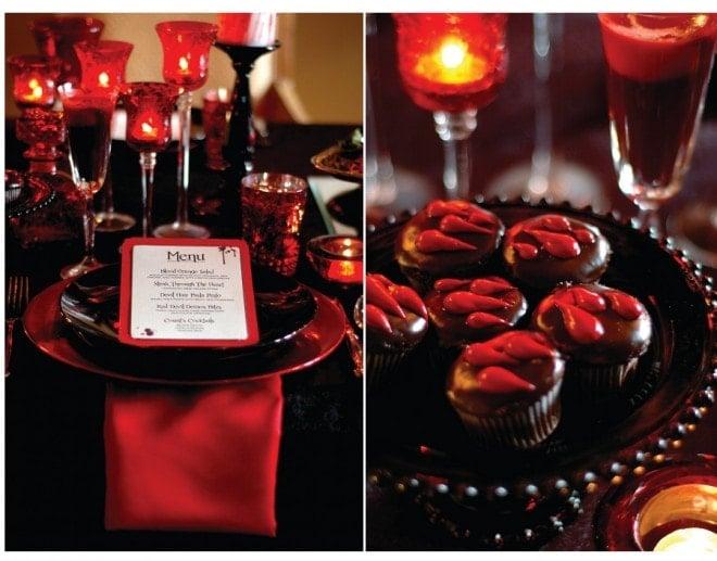 vampire dinner party