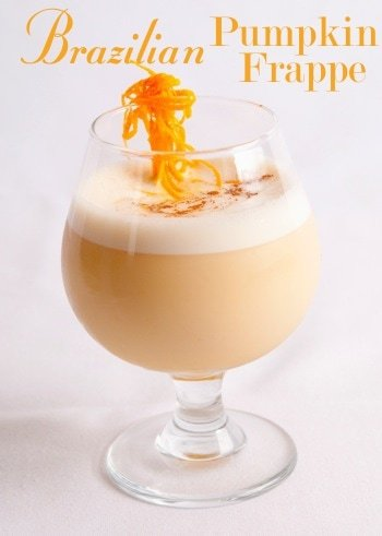 brazilian pumpkin frappe recipe
