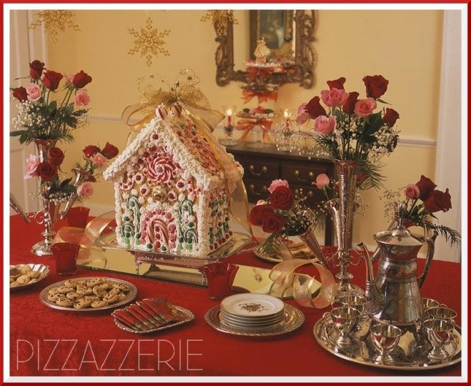 GINGERBREAD HOUSE TEA PARTY