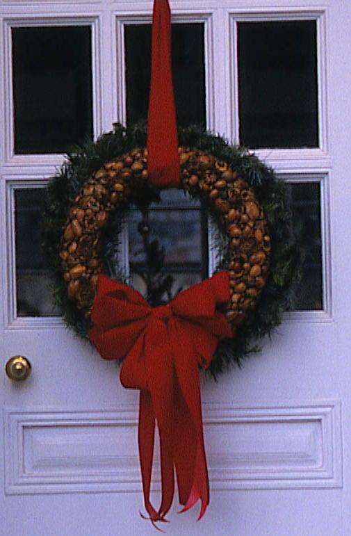 nutcracker nut wreath christmas