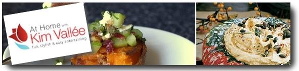 thanksgiving menu by kim vallee