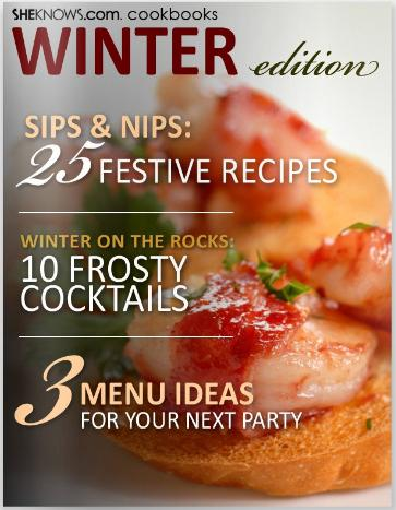 Holiday Cocktails & Festive Winter Recipes