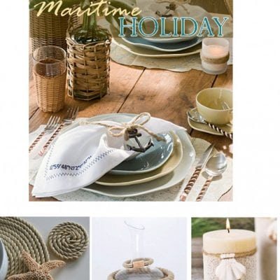 nautical holiday table