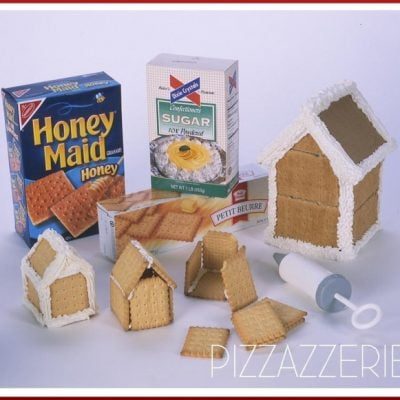 materials needed for gingerbread house making