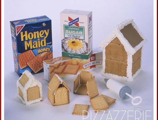 How To Make Gingerbread Houses