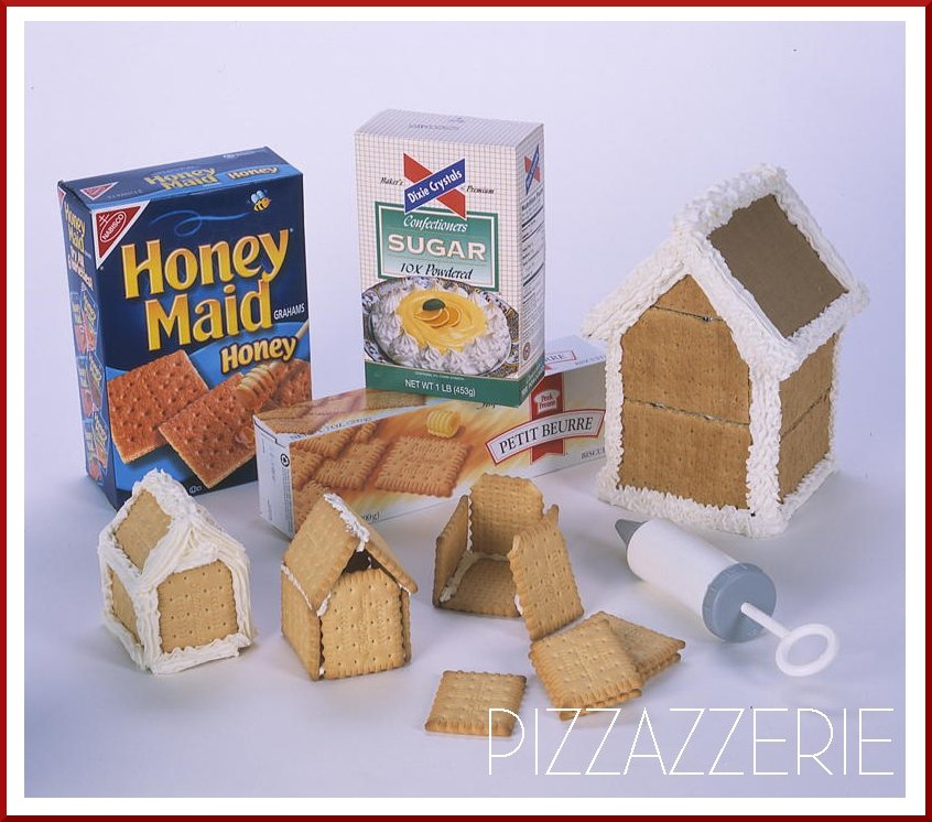 How To Make Gingerbread Houses | Pizzazzerie