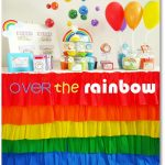 Over the Rainbow Birthday Party