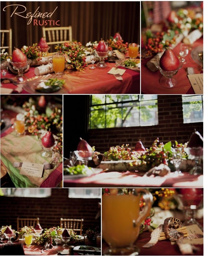 rustic fall tablescape by valley and co