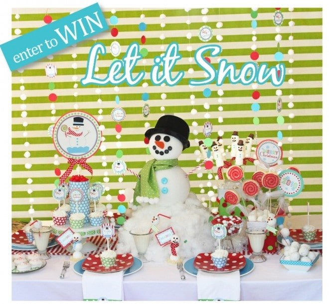 let it snow holiday children's party