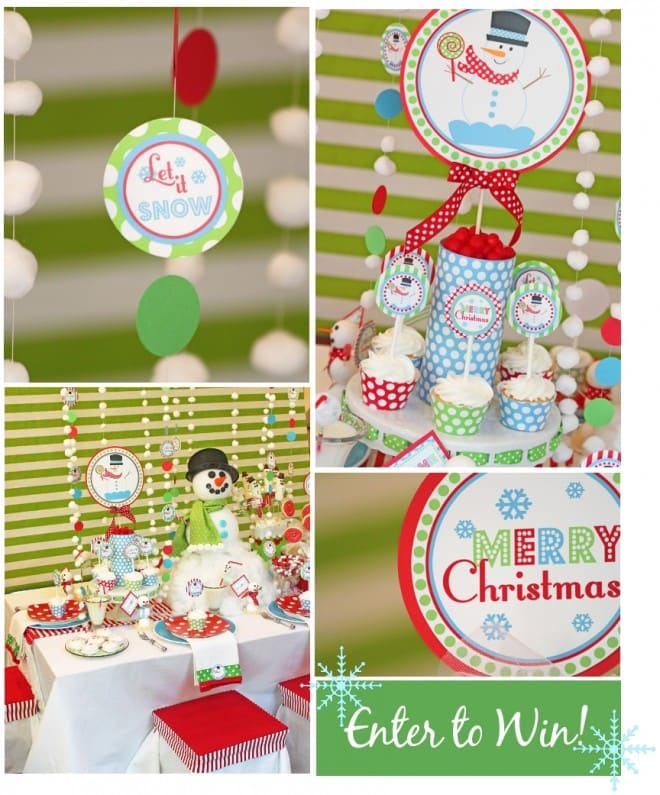 snowman holiday collection