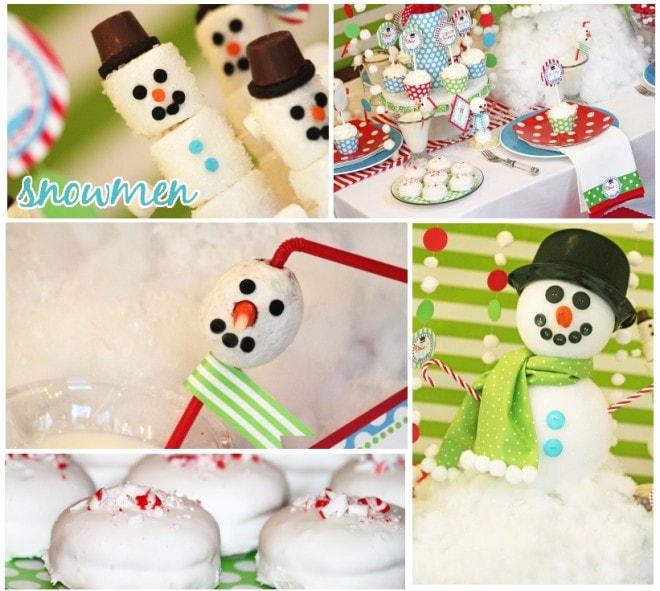 snowmen holiday party