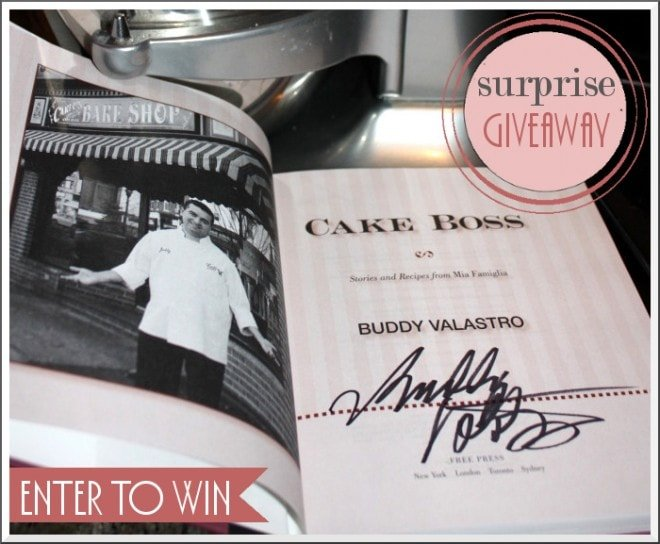cake boss book giveaway