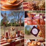 thanksgiving tablescape by pizzazzerie