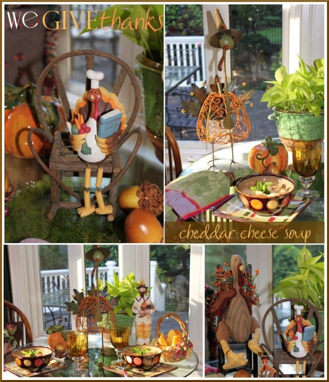 thanksgiving tablescape and recipes