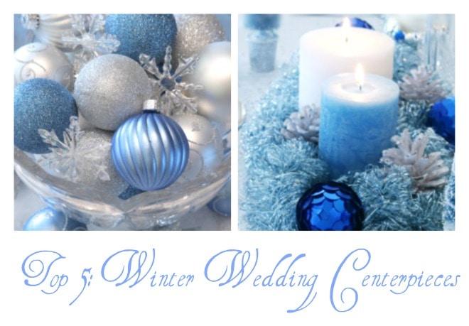 Top 5: Winter Wedding Centerpieces
