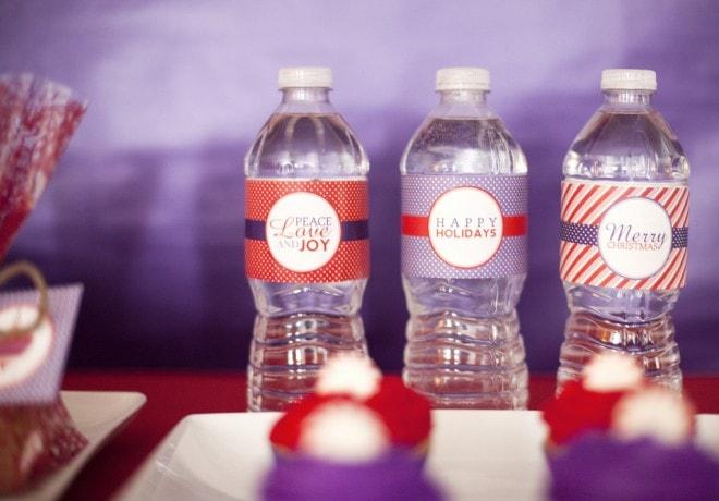 water bottle printables