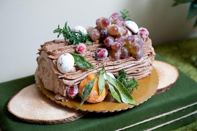 yule log cake whole foods