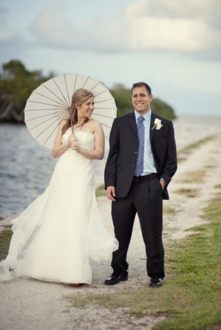 bride parasol