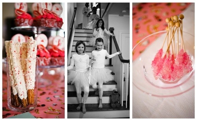 pink nutcracker party for girls