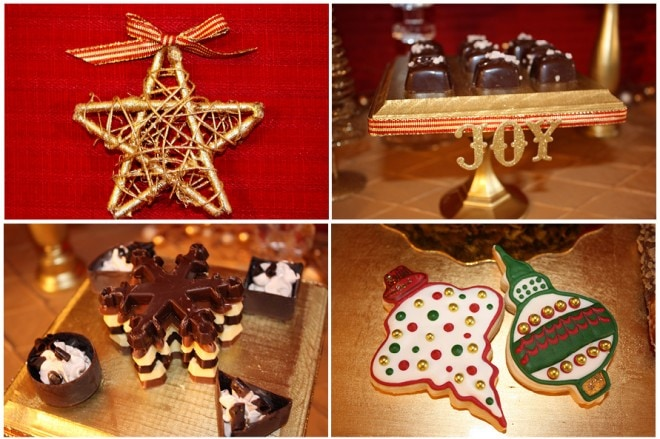 christmas dessert decorations