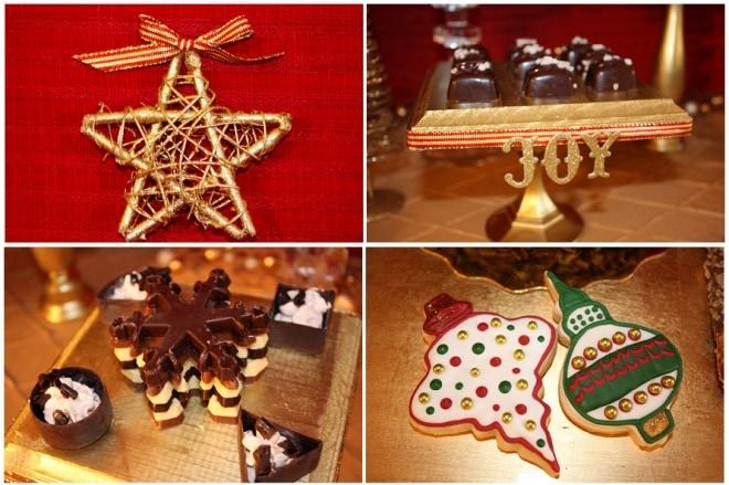 christmas dessert decorations
