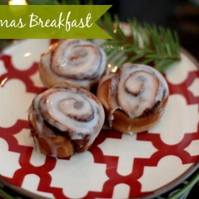 christmas breakfast ideas cinnamon buns
